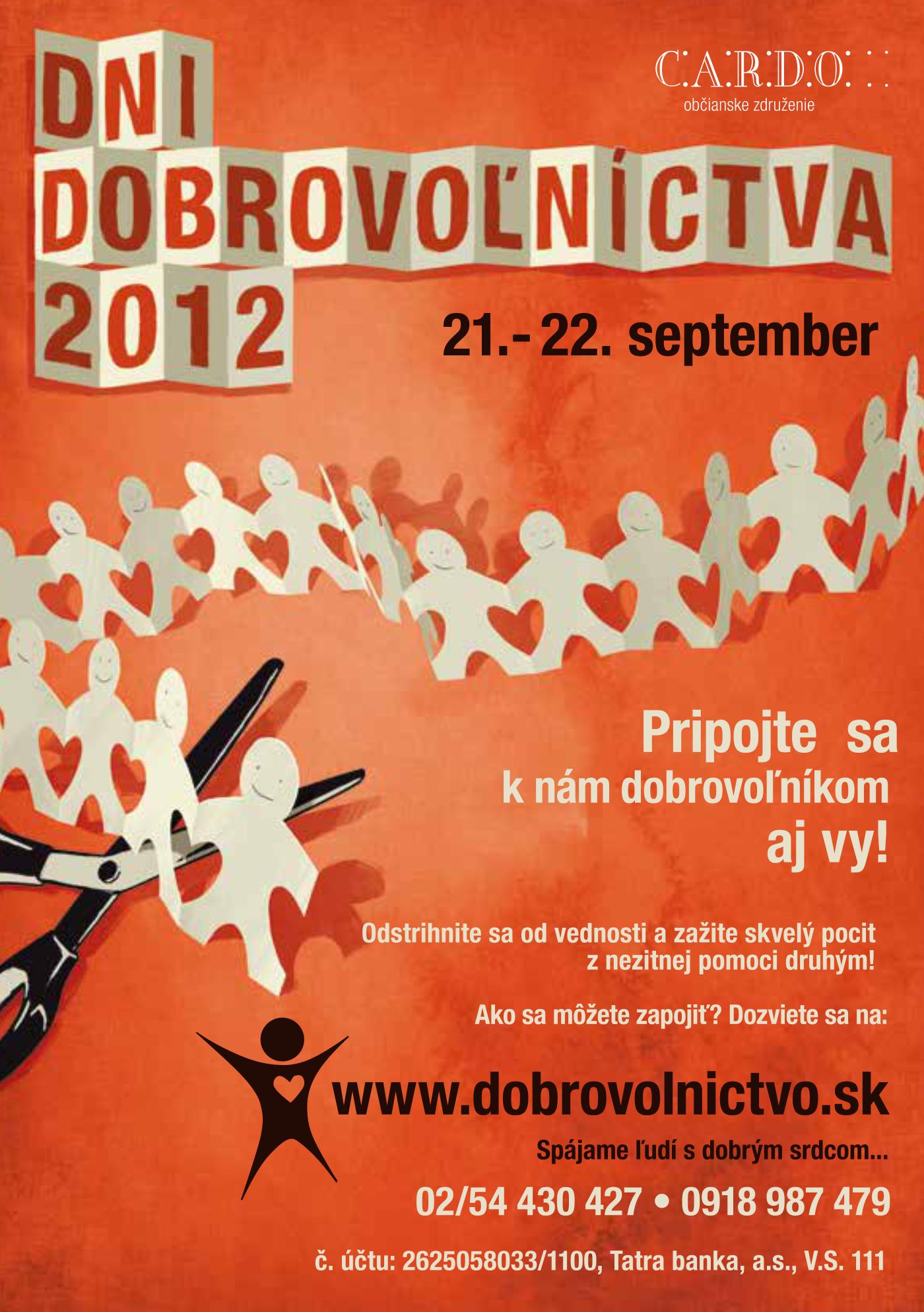 Dni dobrovoľníctva 2012