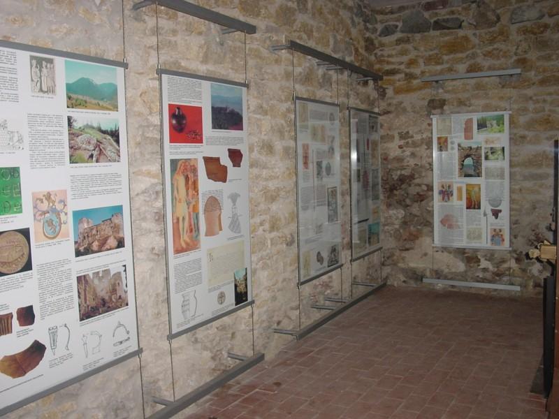 Expozícia hradu a hradného panstva v Huňadyho veži