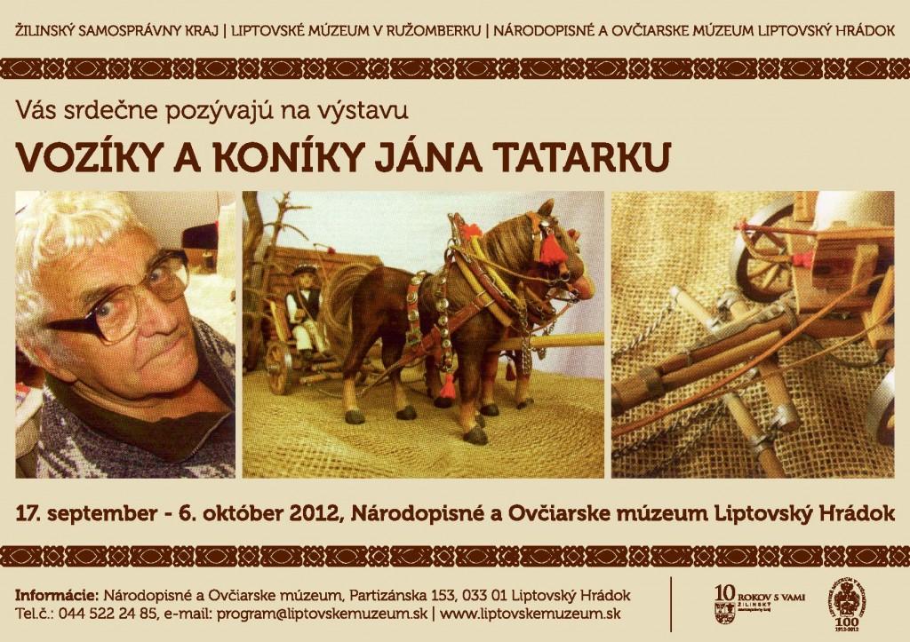 Koníky a vozíky Jána Tatarku