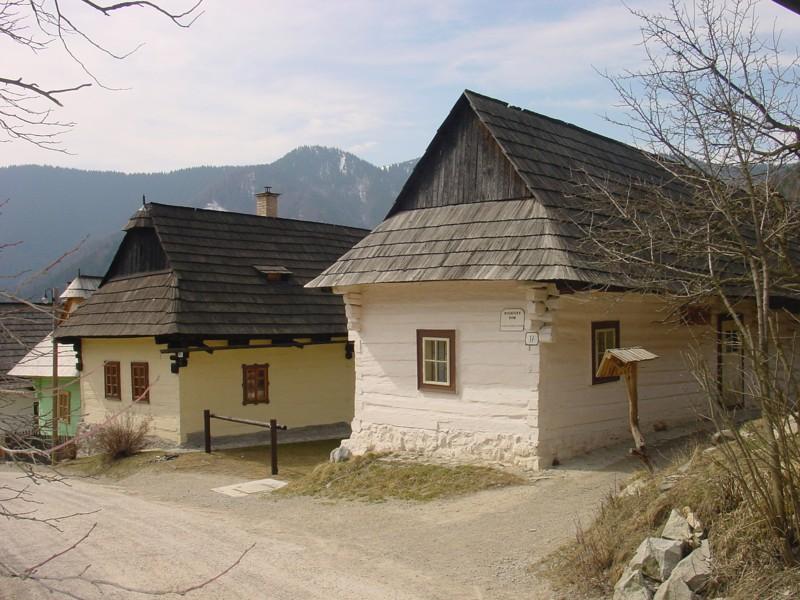Roľnícky dom a dvor Vlkolínec