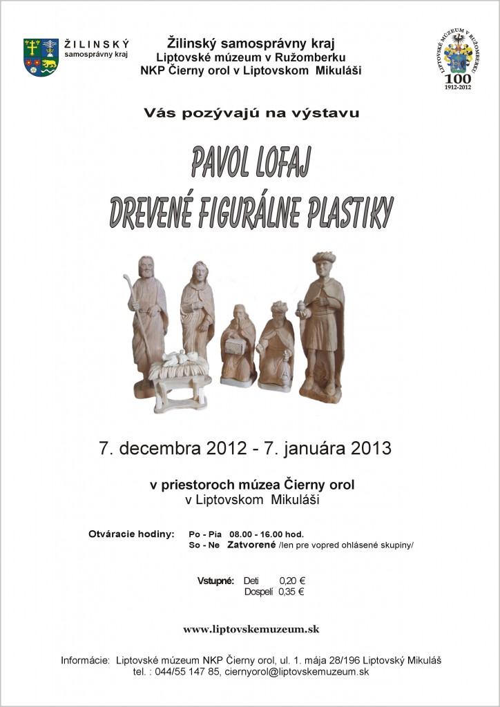 Pavol Lofaj Drevené figuralne plastiky
