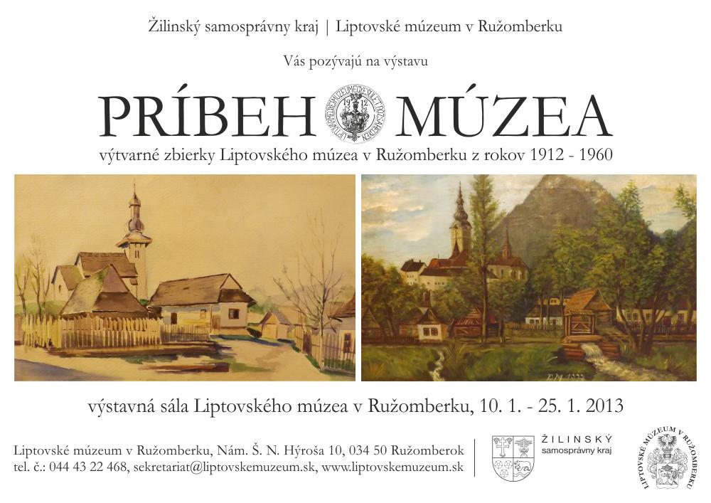 Výstava Príbeh múzea
