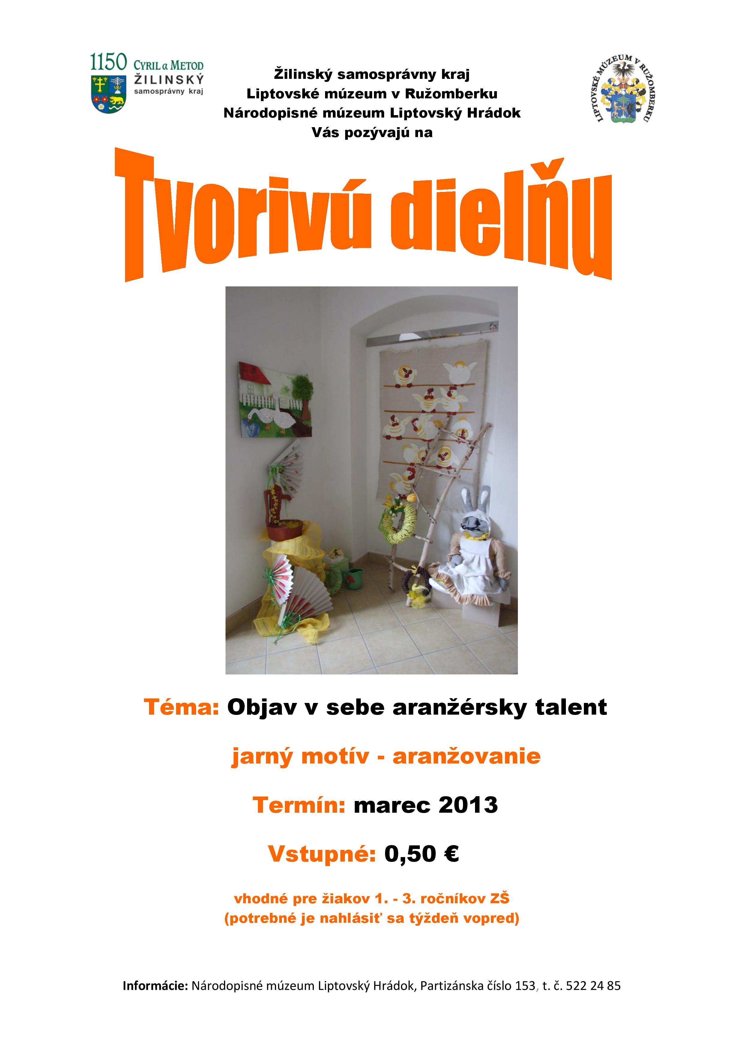 TD - Objav s sebe aranžérsky talent