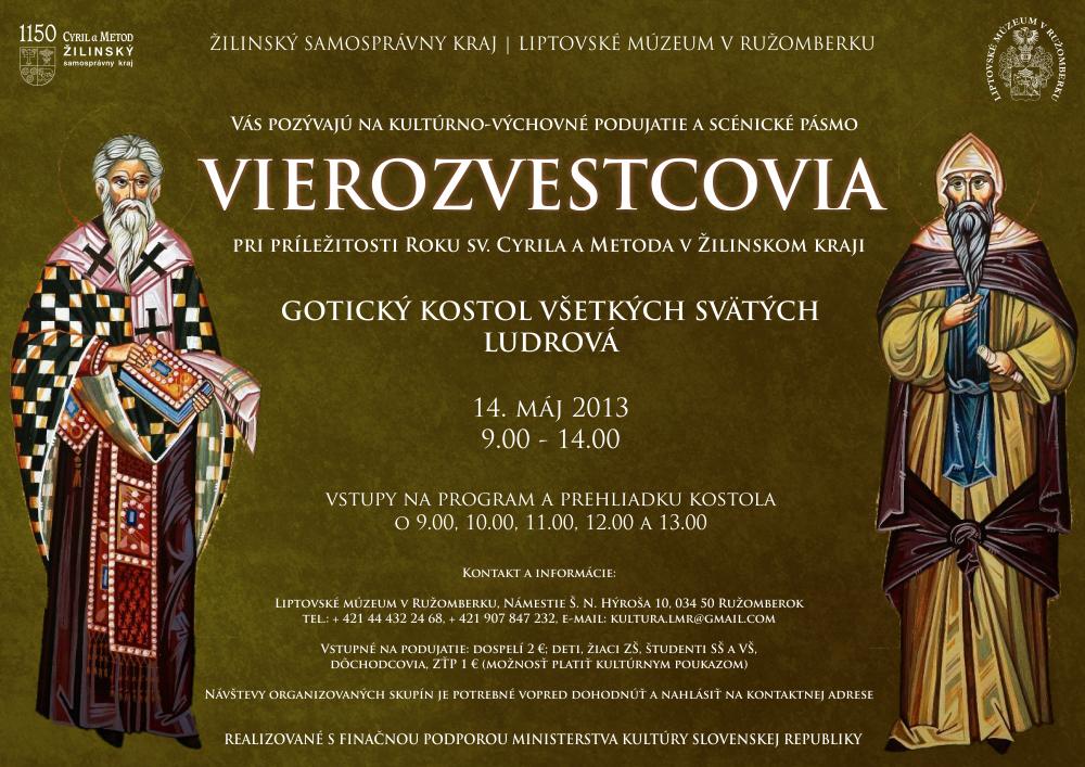 Vierozvestcovia - Ludrová
