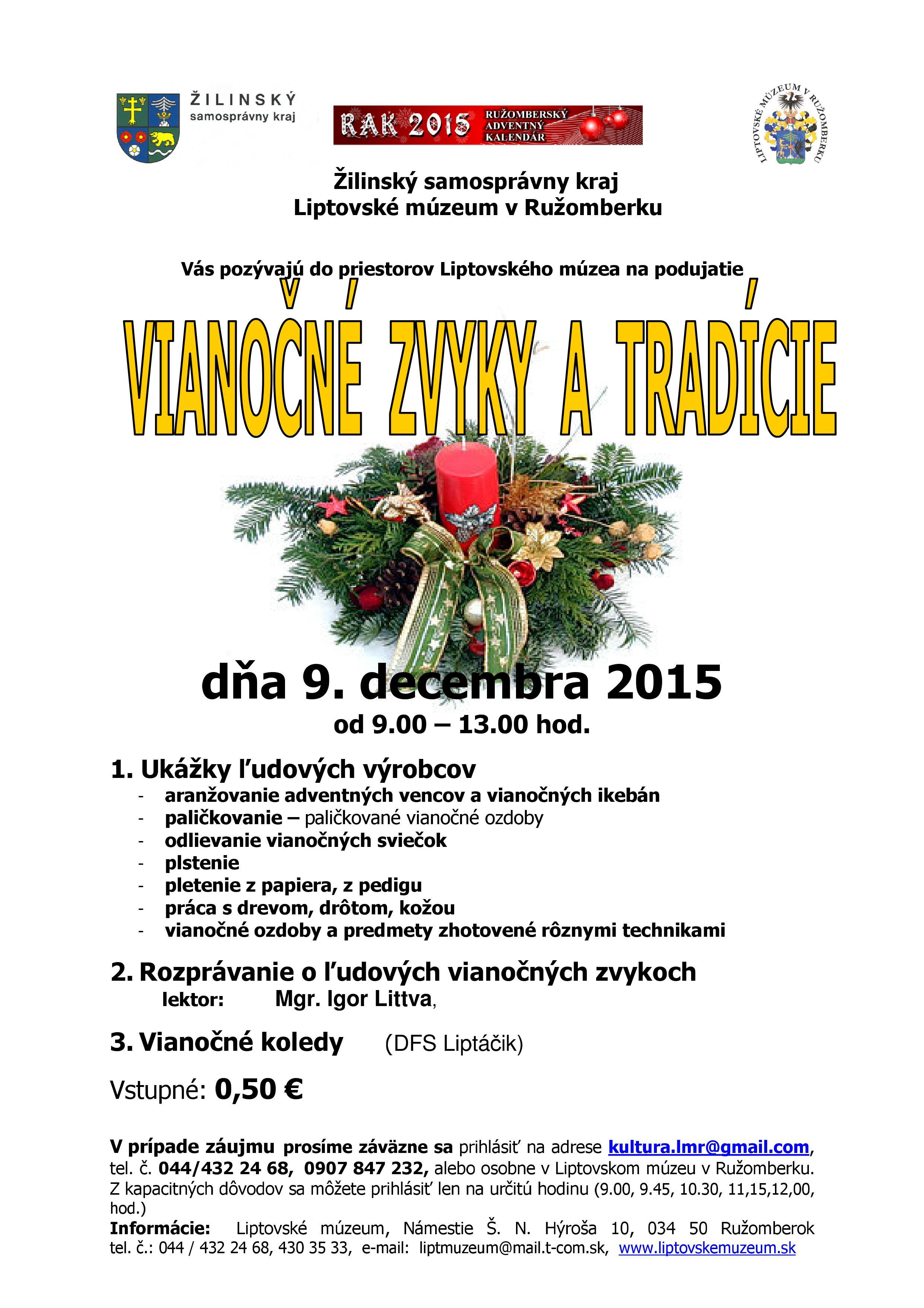 vianocne-zvyky-tradicie-2015-plagat